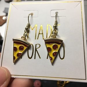 Veronica Nagorny Jewelry - NWT Pepperoni Pizza Earrings